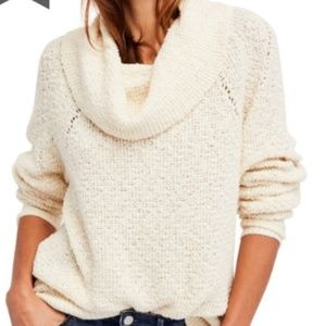 Free People By Your Side Sweater (ivory)